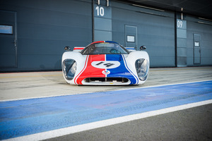 The car was originally built in 1969 and raced extensively that year