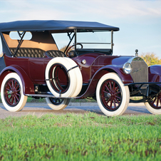 Pierce-Arrow Series 4 48HP Seven-Passenger Touring
