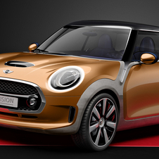 A MINI refere que Vision Concept indica o design da terceira geração do modelo