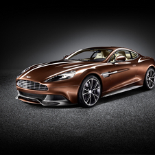 The new Vanquish was revealed late last year