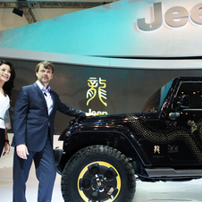 Jeep has no plans to sell a version exactly like it in China