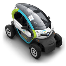 The Twizy has a 100km range