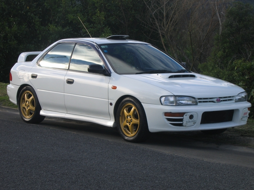 Subaru Impreza WRX STi Version II :: 1 photo and 48 specs :: autoviva ...