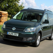 Volkswagen Caddy Maxi Kombi  2.0 TDI Blue Motion
