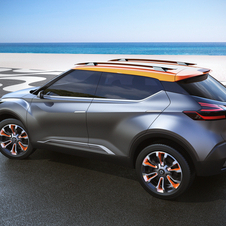 Nissan tried with Kicks an intermediate point between a traditional compact SUV and a performance car