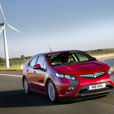 The Vauxhall Ampera is certainly not the most exciting car on offer currently.