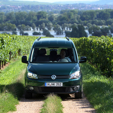 Volkswagen Caddy Maxi Van 2.0 TDI Blue Motion