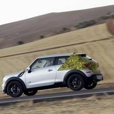 Mini is still keeping the rear camouflaged