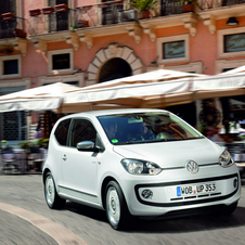 Volkswagen Up 1.0 high up! white