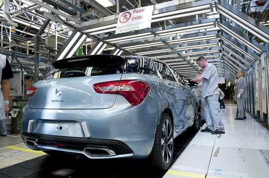 Citroën is facing falling sales in Europe where is has traditionally been strong.
