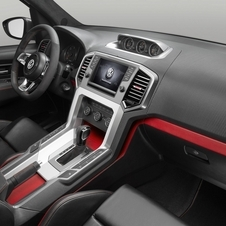 Volkswagen covered the seats in Nubuck leather with an 8in infotainment system