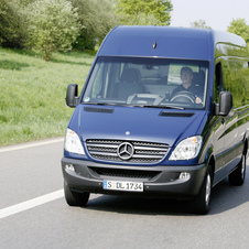 Mercedes-Benz Sprinter Crew Van 2500 High Roof 170-in. WB