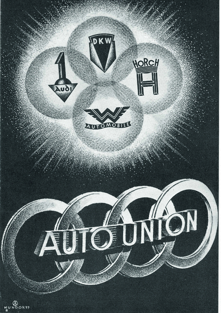 Auo Union, founded 1932