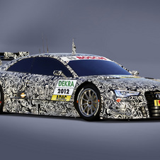 Audi A5 DTM Shows Its Racy Body