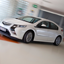 Opel Ampera is Europe's Car of the Year