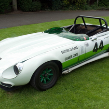 Jaguar E-Type Group 44