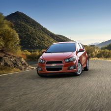 Chevrolet Sonic 1.4L turbocharged