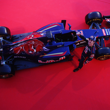The STR9 was unveiled at Jerez