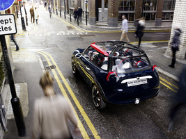 MINI (BMW) Rocketman tribute to London