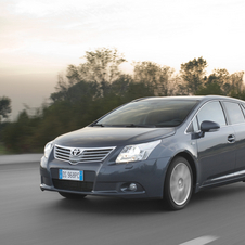 Toyota Avensis SW 2.0 D-4D 125 Exclusive