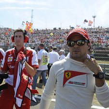 If he does not perform well, then Massa will not have a seat for next year