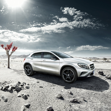 The GLA-Class Edition 1 gets a wide range of added equipment