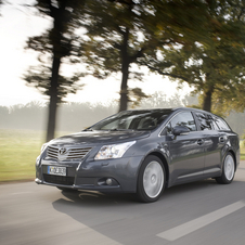 Toyota Avensis SW 2.0 D-4D 125 Luxury