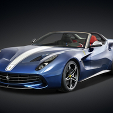The F60America is powered by the multi-award winning V12 engine