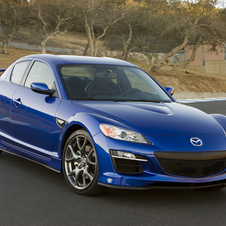 The RX8 was the last rotary Mazda and was canceled in 2011