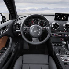 The interior can be specified from relatively mild to tech-laden
