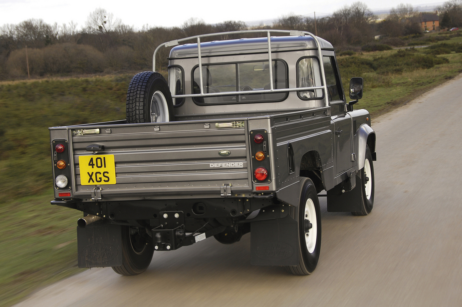 Land Rover Defender 90 Pick Up 5 Photos And 11 Specs