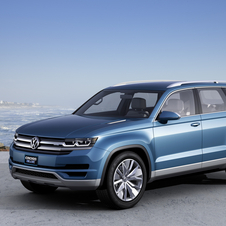 The CrossBlue is a concept for a future seven-passenger model for Volkswagen