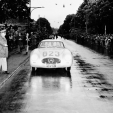 Ferrari won the Mille Miglia in 1952 and Aurelia were third, fifth and sixth