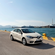 The new Fluence wears the new Renault face like the Clio