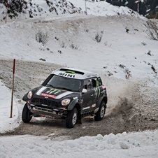 Mini is hoping to win its third consecutive time at Dakar