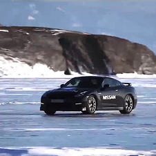 Nissan now holds the speed record on natural ice