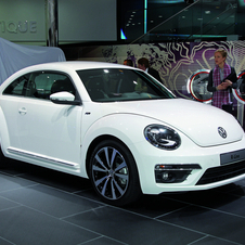 Volkswagen has announced a R-Line version of the Beetle
