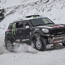 The cars are based on highly modified versions of the Countryman