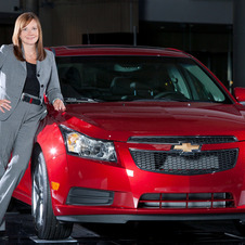 She has worked for GM for 33 years