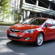 Opel Astra 1.7 CDTI Design Edition