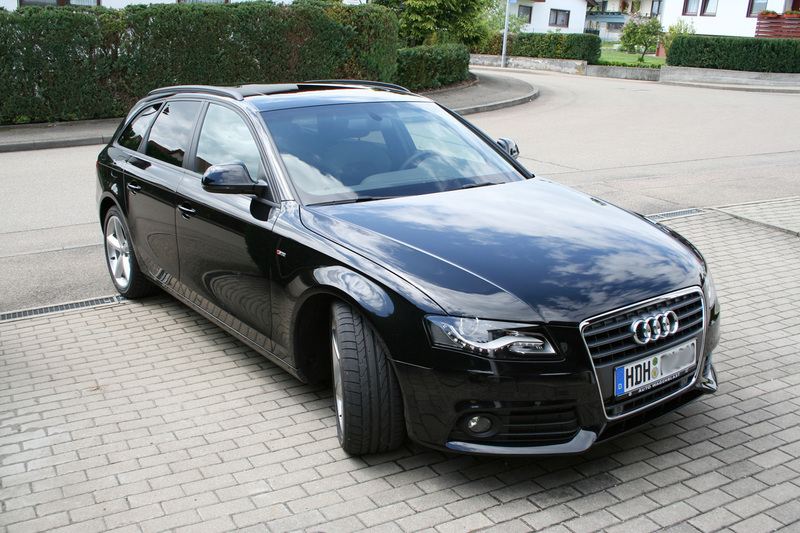 Audi a4 avant 2008 weight 7