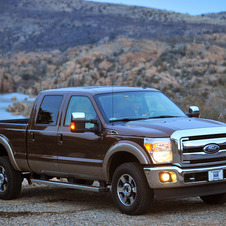 Ford F-Series Super Duty F-250 158-in. WB Lariat Styleside SuperCab 4x2