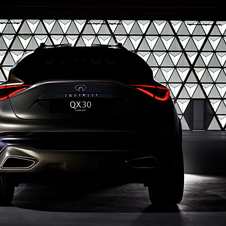 The QX30 will be based on the Q30 concept presented in 2013 at the Frankfurt Motor Show
