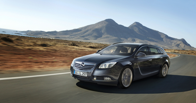 Opel Insignia Sports Tourer V6 2.8 Turbo Cosmo Adaptive 4x4