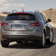 Refreshed Infiniti FX Gets New Front and New Package