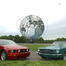 The current Mustang makes many references to the first, and most iconic model.