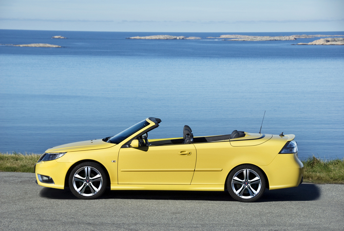 Saab 9-3 Convertible 2.0t Biopower Vector Sentronic