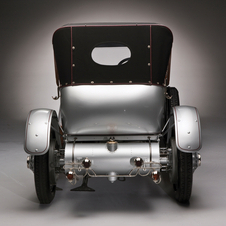 Rolls-Royce 40/50 HP Silver Ghost London-Edinburgh Tourer