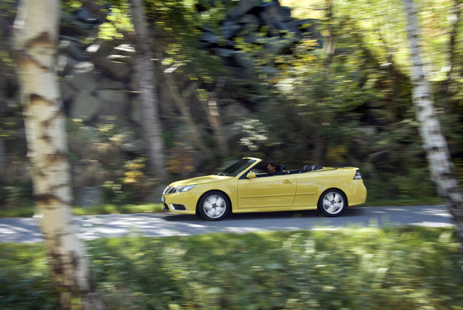 Saab 9-3 Convertible 2.0t Vector