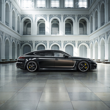 The special edition Panamera Turbo S Exclusive Executive will have its 100 units sold in selected markets